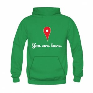 Kid's hoodie You are here