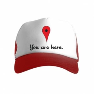 Kid's Trucker Hat You are here