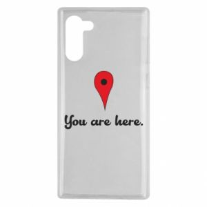 Samsung Note 10 Case You are here