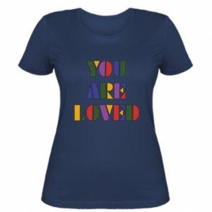 Damska koszulka You are loved