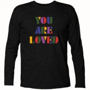 Koszulka z długim rękawem You are loved