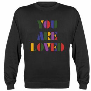 Bluza (raglan) You are loved