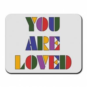 Podkładka pod mysz You are loved
