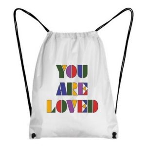 Plecak-worek You are loved