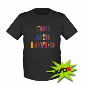 Dziecięcy T-shirt You are loved