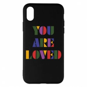 Etui na iPhone X/Xs You are loved