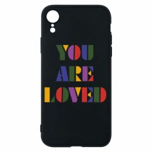 Etui na iPhone XR You are loved