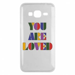 Etui na Samsung J3 2016 You are loved