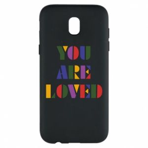 Etui na Samsung J5 2017 You are loved
