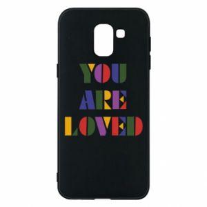 Etui na Samsung J6 You are loved