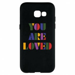Etui na Samsung A5 2017 You are loved