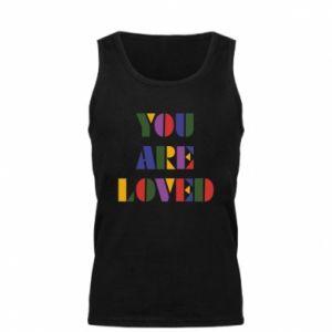 Męska koszulka You are loved