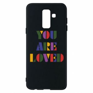 Etui na Samsung A6+ 2018 You are loved
