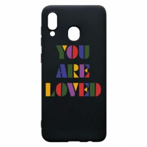 Etui na Samsung A20 You are loved