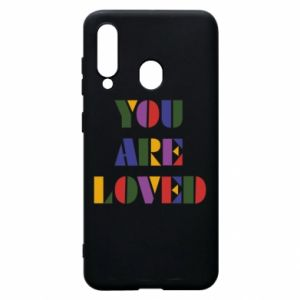 Etui na Samsung A60 You are loved