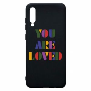 Etui na Samsung A70 You are loved