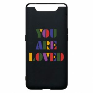 Etui na Samsung A80 You are loved