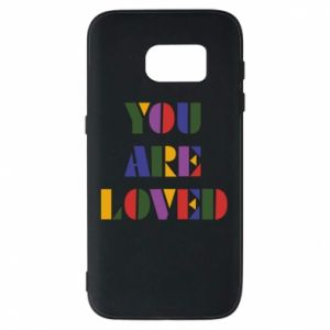 Etui na Samsung S7 You are loved