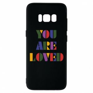 Etui na Samsung S8 You are loved