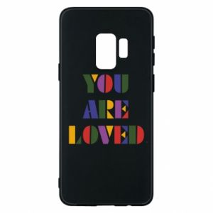 Etui na Samsung S9 You are loved