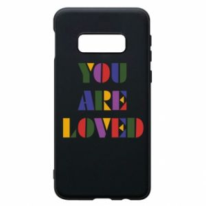 Etui na Samsung S10e You are loved