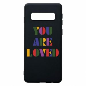 Etui na Samsung S10 You are loved