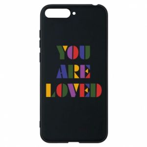 Etui na Huawei Y6 2018 You are loved
