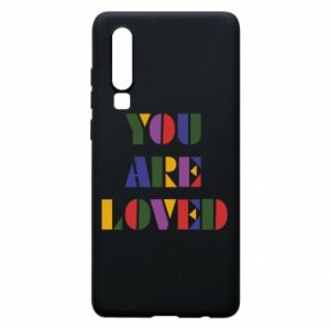 Etui na Huawei P30 You are loved
