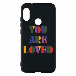 Etui na Mi A2 Lite You are loved