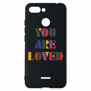 Etui na Xiaomi Redmi 6 You are loved
