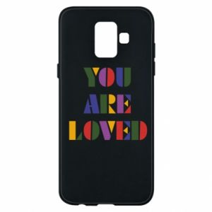 Etui na Samsung A6 2018 You are loved