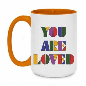Kubek dwukolorowy 450ml You are loved