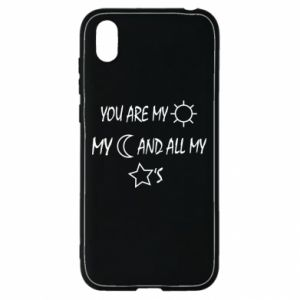 Etui na Huawei Y5 2019 You are my sun, my moon and all my stars