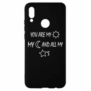 Etui na Huawei P Smart 2019 You are my sun, my moon and all my stars