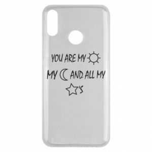 Etui na Huawei Y9 2019 You are my sun, my moon and all my stars