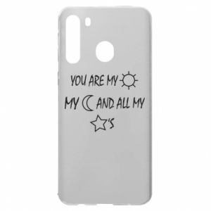 Etui na Samsung A21 You are my sun, my moon and all my stars