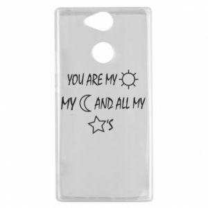 Etui na Sony Xperia XA2 You are my sun, my moon and all my stars