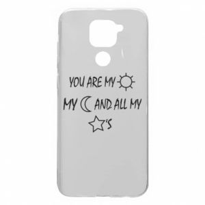 Etui na Xiaomi Redmi Note 9/Redmi 10X You are my sun, my moon and all my stars