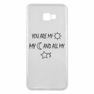 Phone case for Samsung J4 Plus 2018 You are my sun, my moon and all my stars