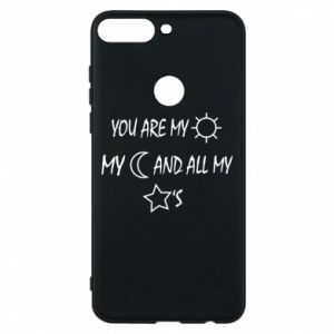 Phone case for Huawei Y7 Prime 2018 You are my sun, my moon and all my stars