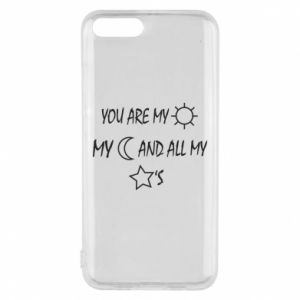 Phone case for Xiaomi Mi6 You are my sun, my moon and all my stars