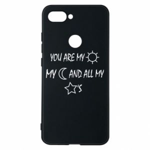 Phone case for Xiaomi Mi8 Lite You are my sun, my moon and all my stars