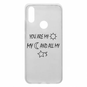 Phone case for Xiaomi Redmi 7 You are my sun, my moon and all my stars