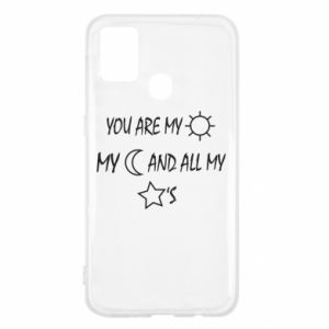 Etui na Samsung M31 You are my sun, my moon and all my stars