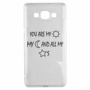 Etui na Samsung A5 2015 You are my sun, my moon and all my stars