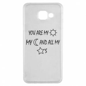 Etui na Samsung A3 2016 You are my sun, my moon and all my stars