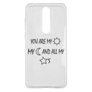 Etui na Nokia 5.1 Plus You are my sun, my moon and all my stars