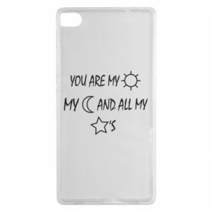 Etui na Huawei P8 You are my sun, my moon and all my stars