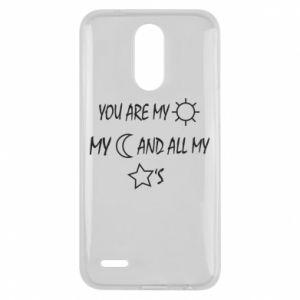 Etui na Lg K10 2017 You are my sun, my moon and all my stars