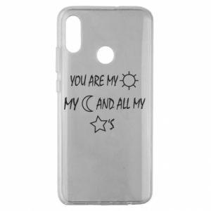 Etui na Huawei Honor 10 Lite You are my sun, my moon and all my stars